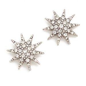 NWT Lulu Frost Electra stud earrings